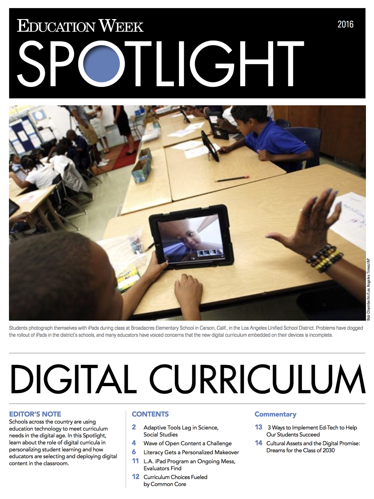 Digital Curriculum Articles
