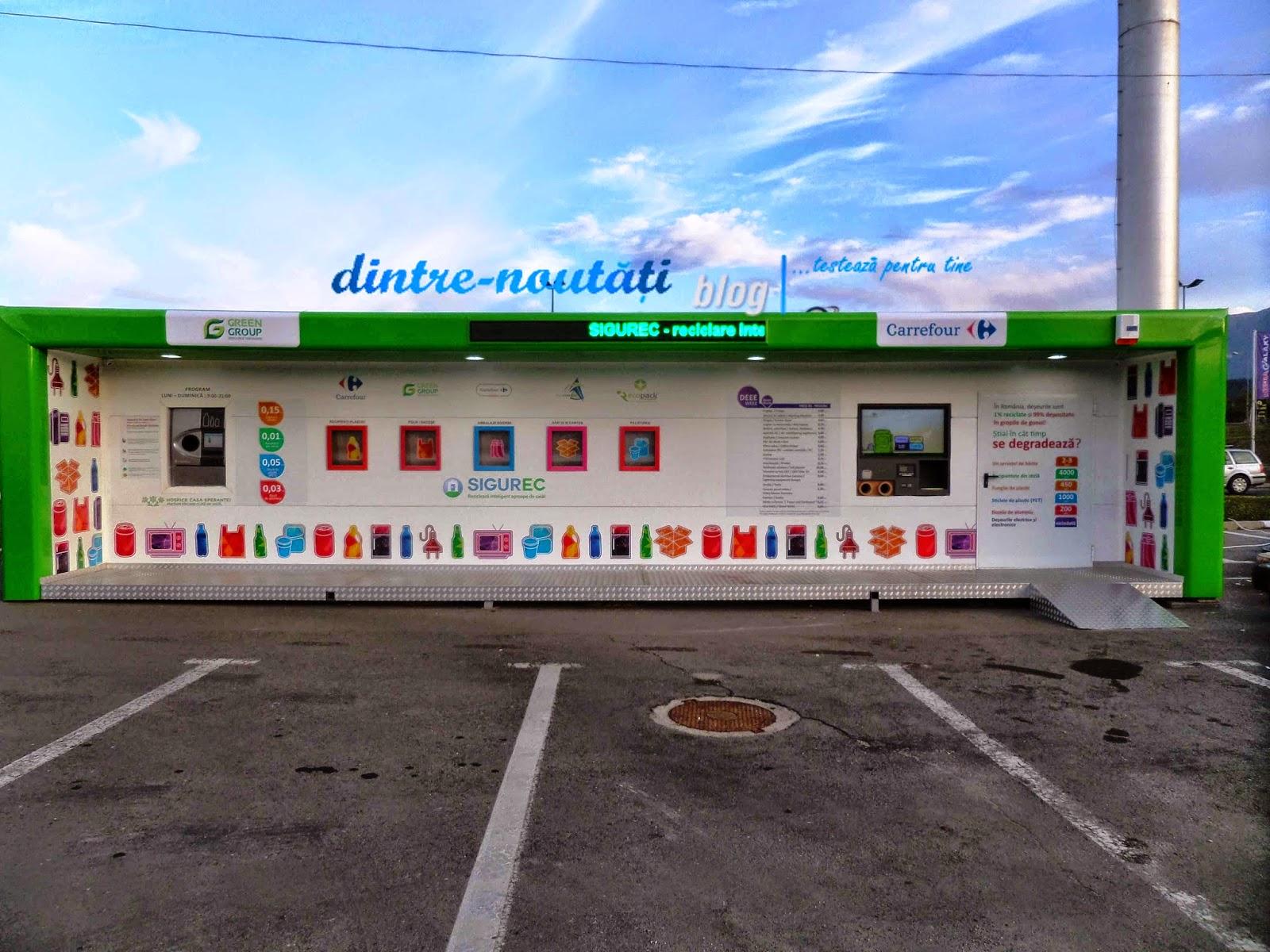 Reciclatorul Inteligent Carrefour Brasov