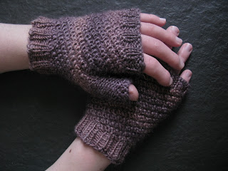 free mitts knitting pattern