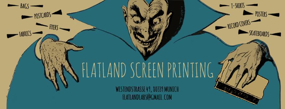 flatland screen printing