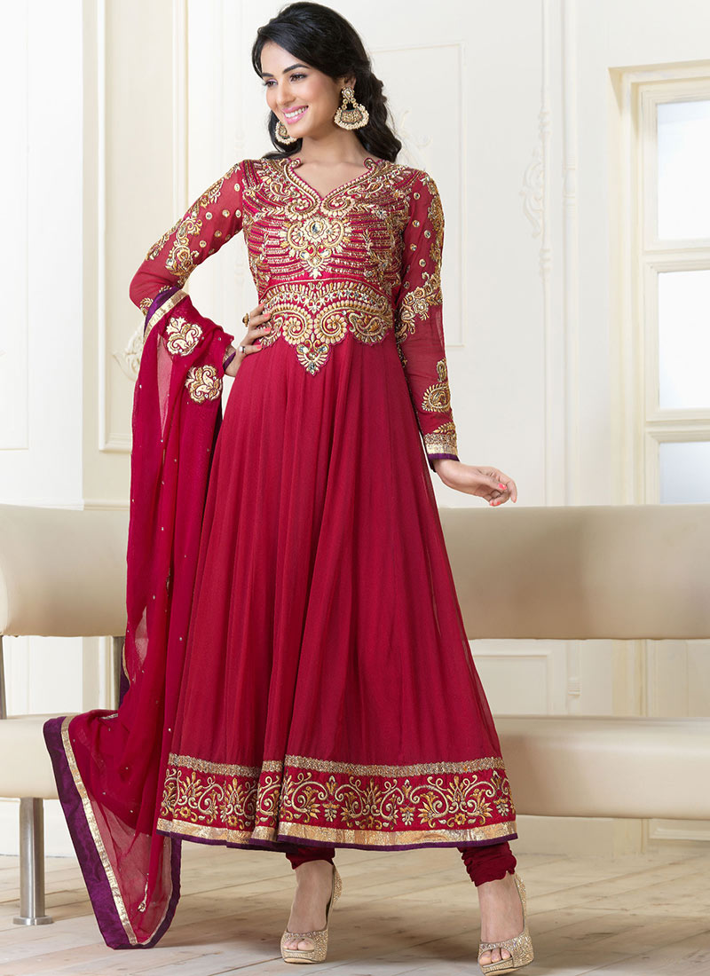 Buy Jennifer Winget Designer Celebrity Anarkali Suit - VJV ...