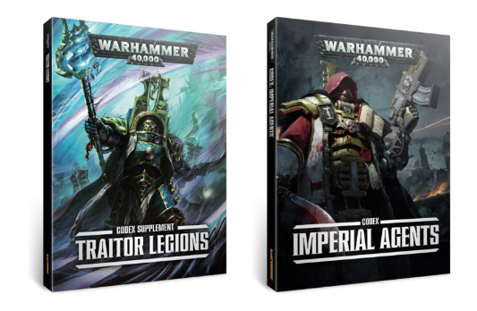 Imperial Agents and Traitor Legions Codex