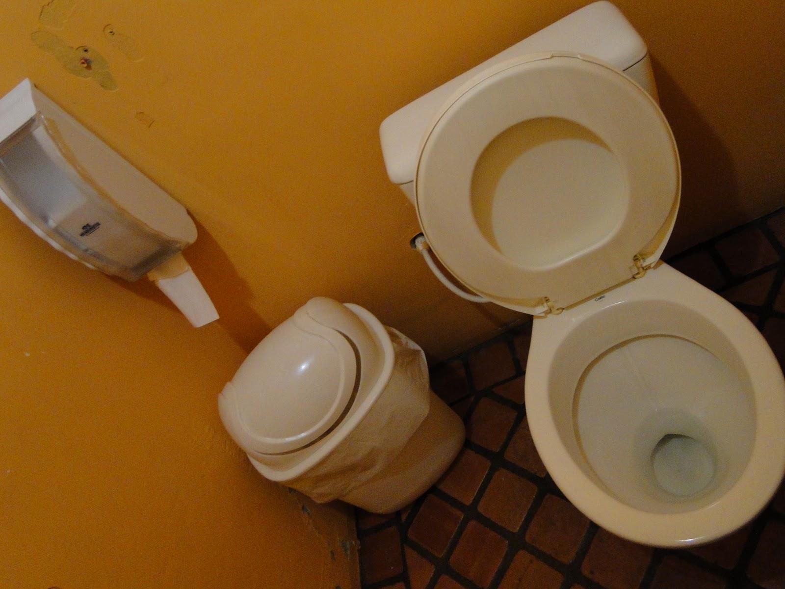 Em Busca do Banheiro Perfeito BAR BREJAS -> Mictorio Banheiro Feminino