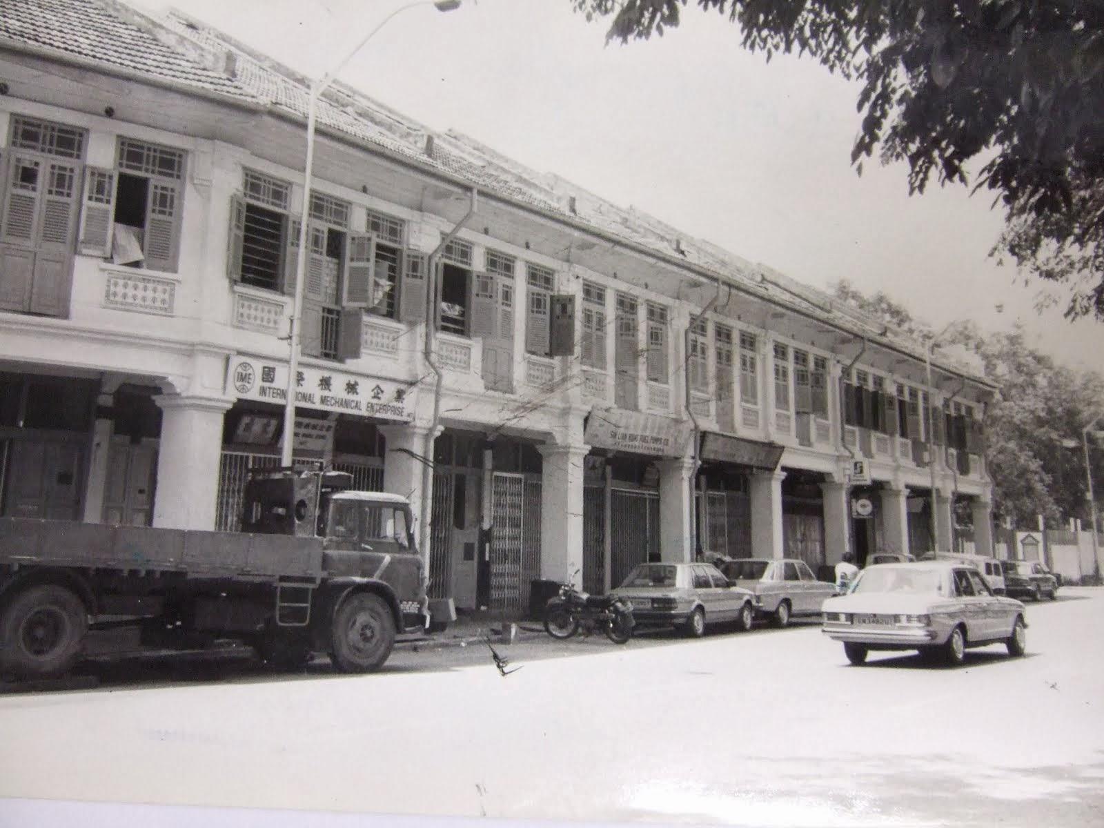 Old shophouses