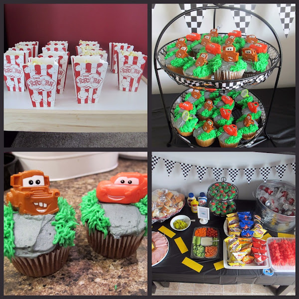 Cars Birthday Party Food Ideas