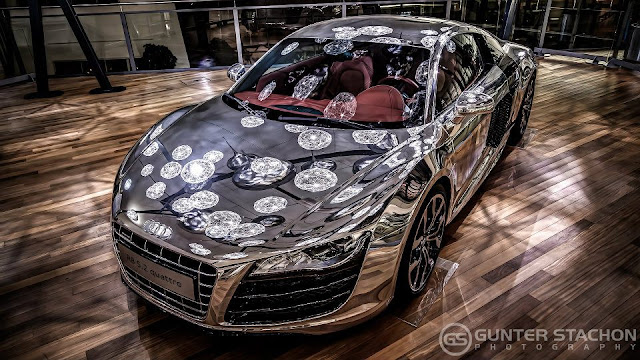 Aluminium Edition Audi R8 Coupe