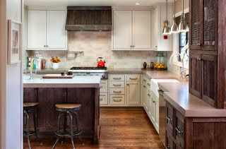 Contoh Gambar Desain Set Kabinet Dapur