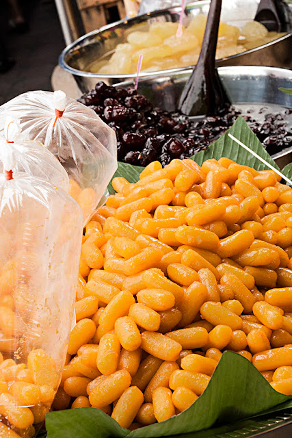 Tajlandia - Słodycze na bazarze