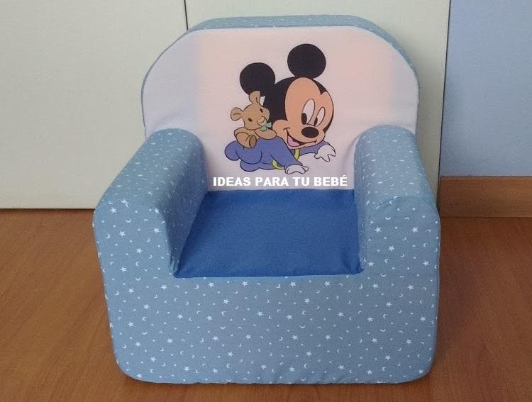 Ideas para tu beb sillon mickey beb - Sillon habitacion bebe ...