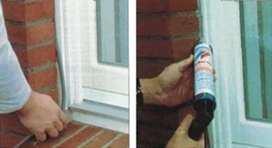 Правильное заполнение стыковочных швов между окном, дверью и  стеной