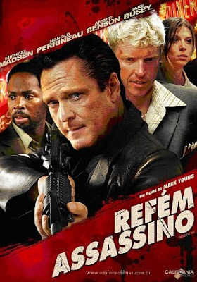 Filme Poster Refém Assassino DVDRip XviD Dual Audio & RMVB Dublado