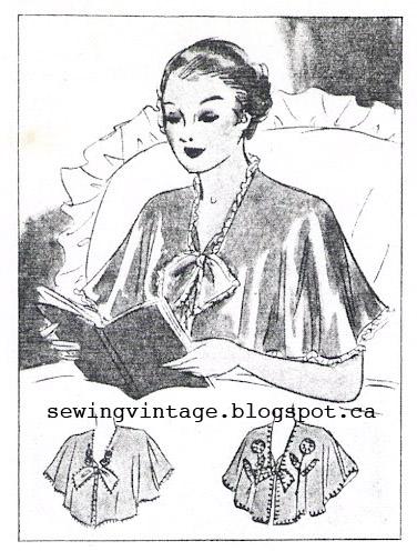 Free Bed Jacket Pattern Lena Patterns