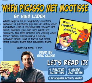 Lakeside School Library Blog: When Pigasso met Mootisse - Library ...