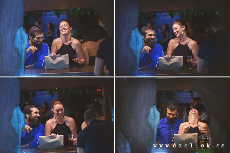 pareja barra libre restaurante carlos