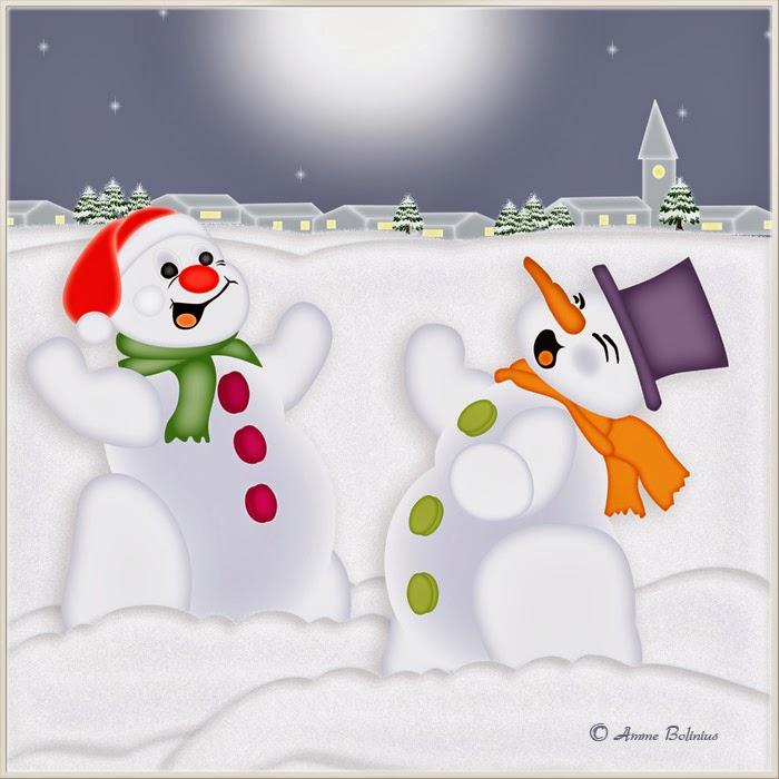SCHNEEMANN zum Ausmalen HelloKids  - Schneemänner Zum Ausmalen