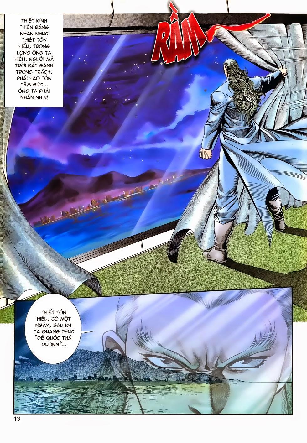 Long Hổ Phong Bạo chap 3 - Trang 13