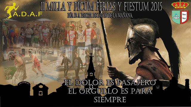 """II """"Milla y Picum"""" de Fuensalida"""