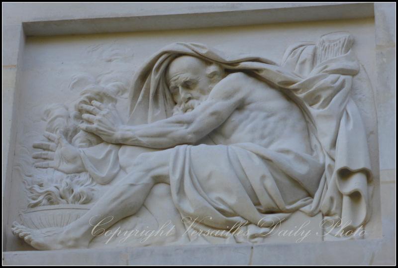 Saturn Belvedere Petit Trianon Versailles