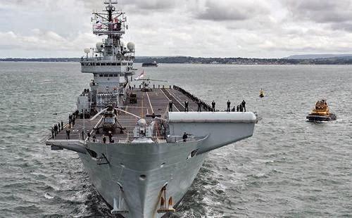 HMS Illustrious Angkatan Laut Inggris