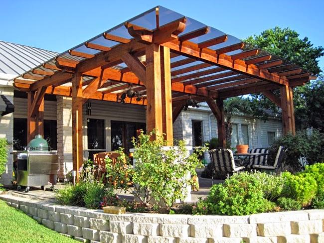Gallart grupo el blog suelos y puertas de madera en - Pergolas y toldos para jardin ...