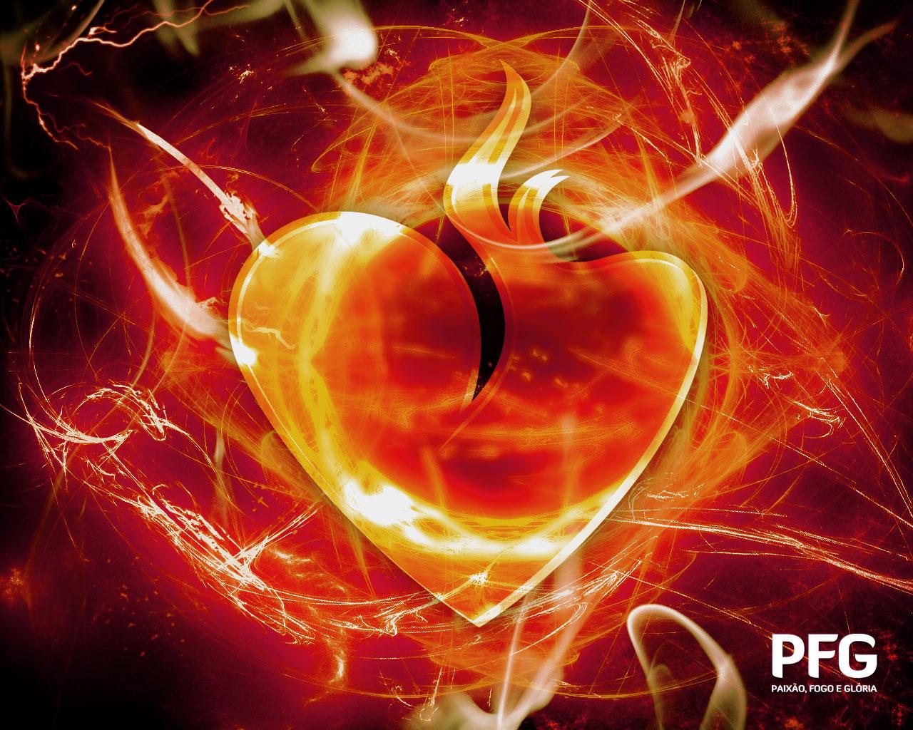 Coração do amor 3D | Papéis de parede para PC, fotos Dia