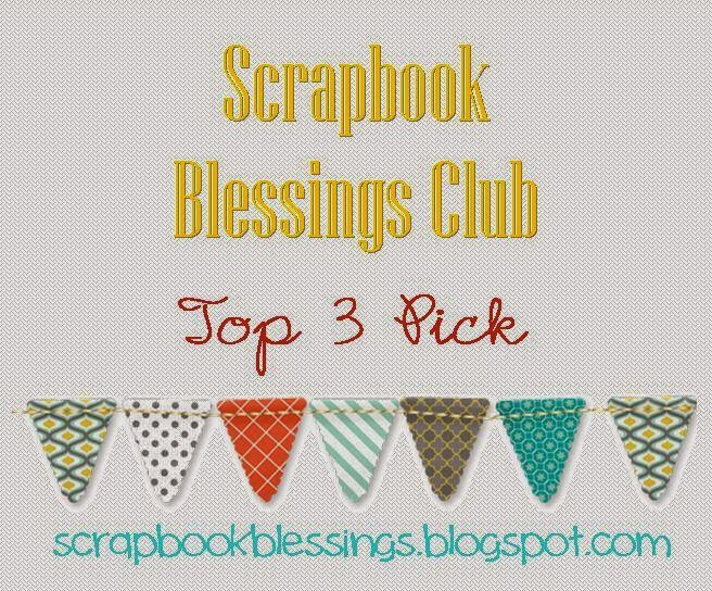 8 x Scrapbook Blessings Top 3