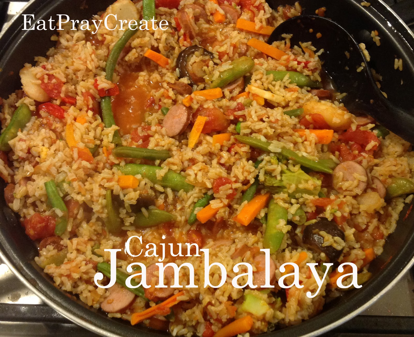 Cajun Jambalaya Recipe - Quick and Easy Dinner - Eat Pray Create