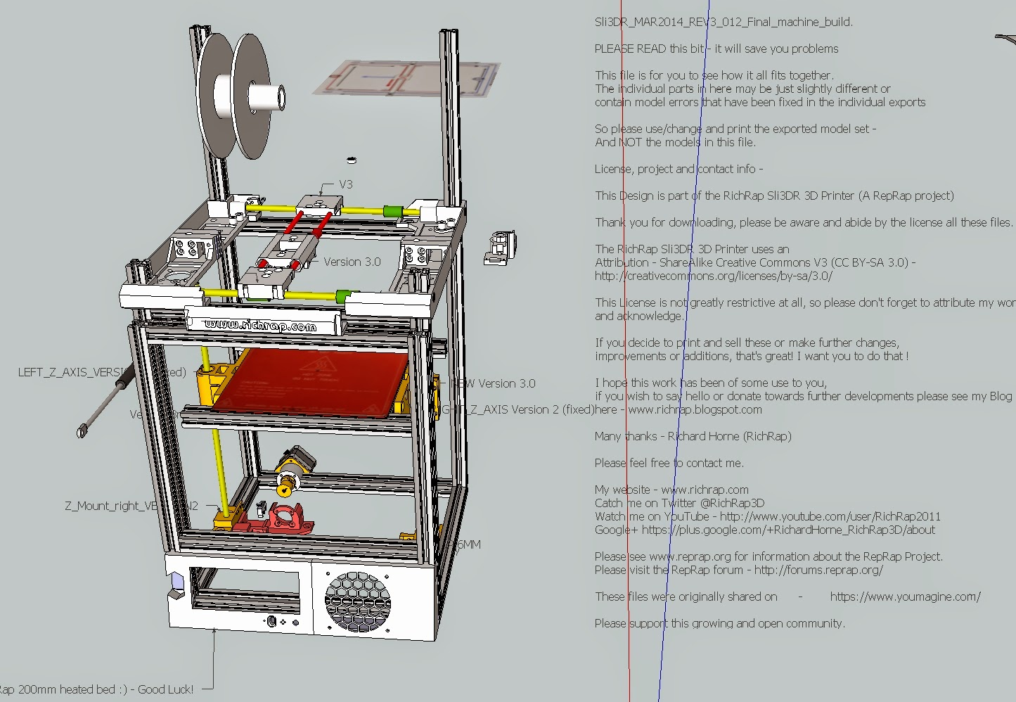 Reprap development and further adventures in diy 3d for 3d printer layouts