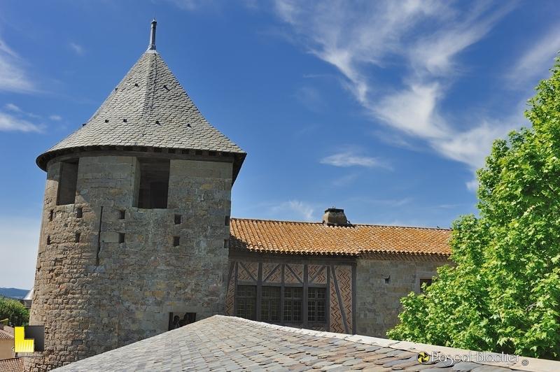 toiture du château comtal photo pascal blachier