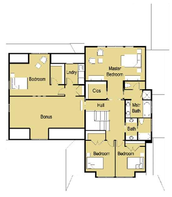 House plans and design modern house floor plans and designs for Modern 1 bedroom house plans