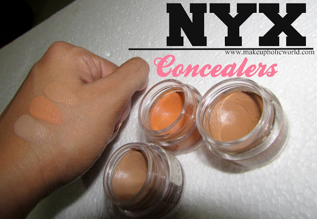 NYX Concealer Jar – Shades : Glow, Orange, Tan