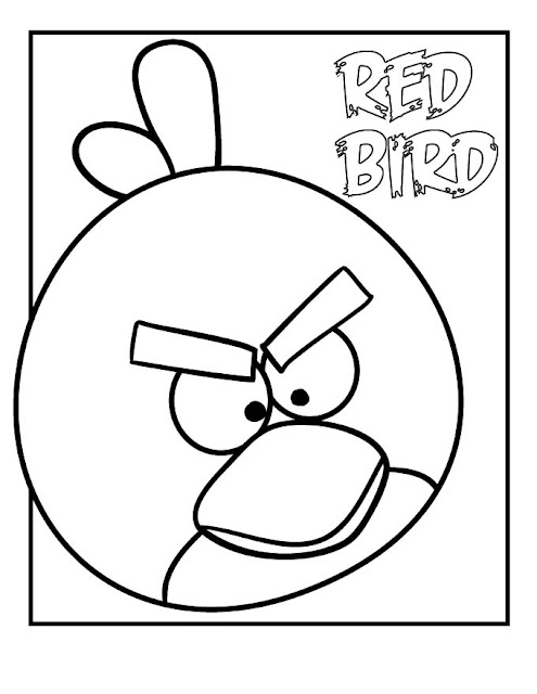Print And Coloring Page Angry Birds For Kids