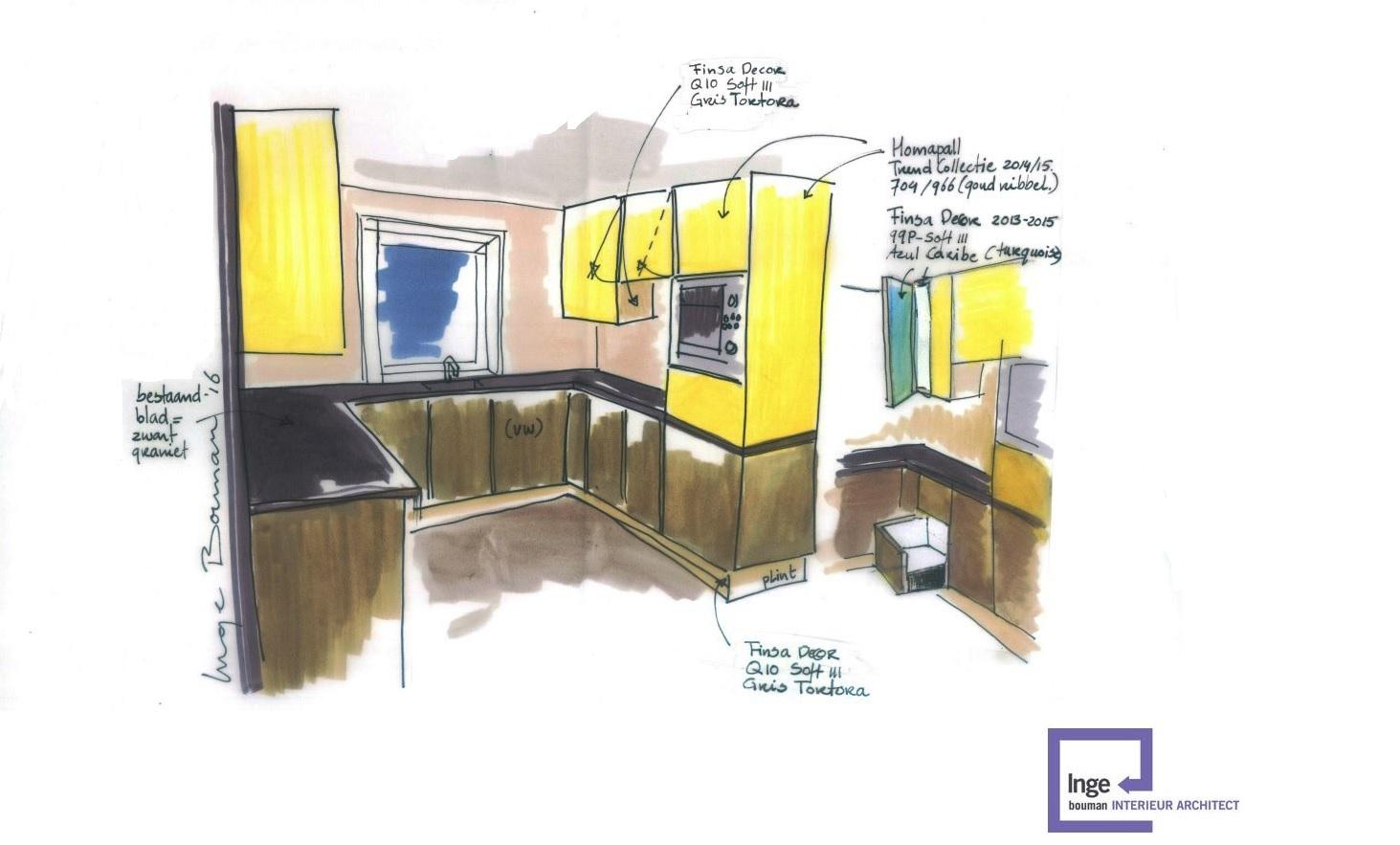 Wordt het een nieuwe keuken of gaan we hem op pimpen ?  Inge Bouman Interie # Wasbak Pimpen_110944