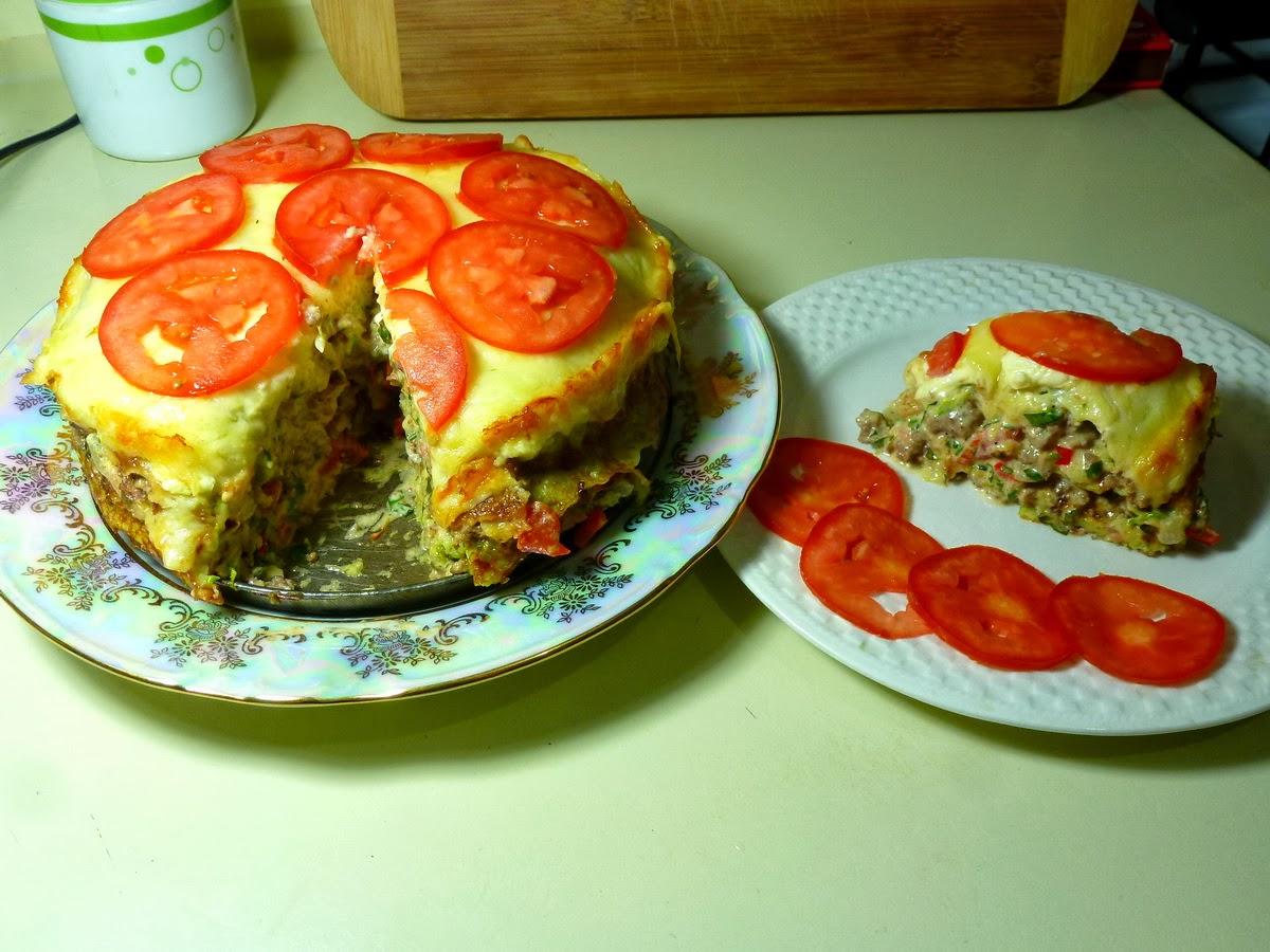 Торт из кабачков пошагово фото