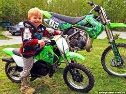 4 And 5 Year Olds On Dirt Bikes dirt bike for a year old
