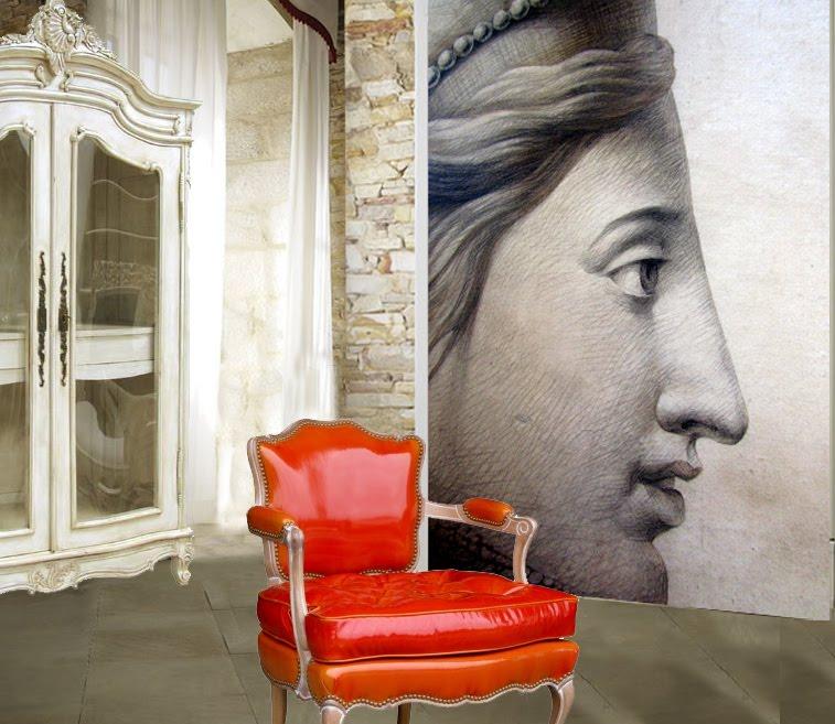ananb collection de papiers peints imprim s. Black Bedroom Furniture Sets. Home Design Ideas