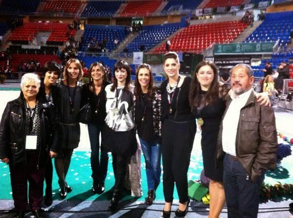 Tania Lamarca, Lorena Guréndez, Estíbaliz Martínez, Estela Giménez, Marta Baldó, Nuria Cabanillas, Maider Esparza, 2014