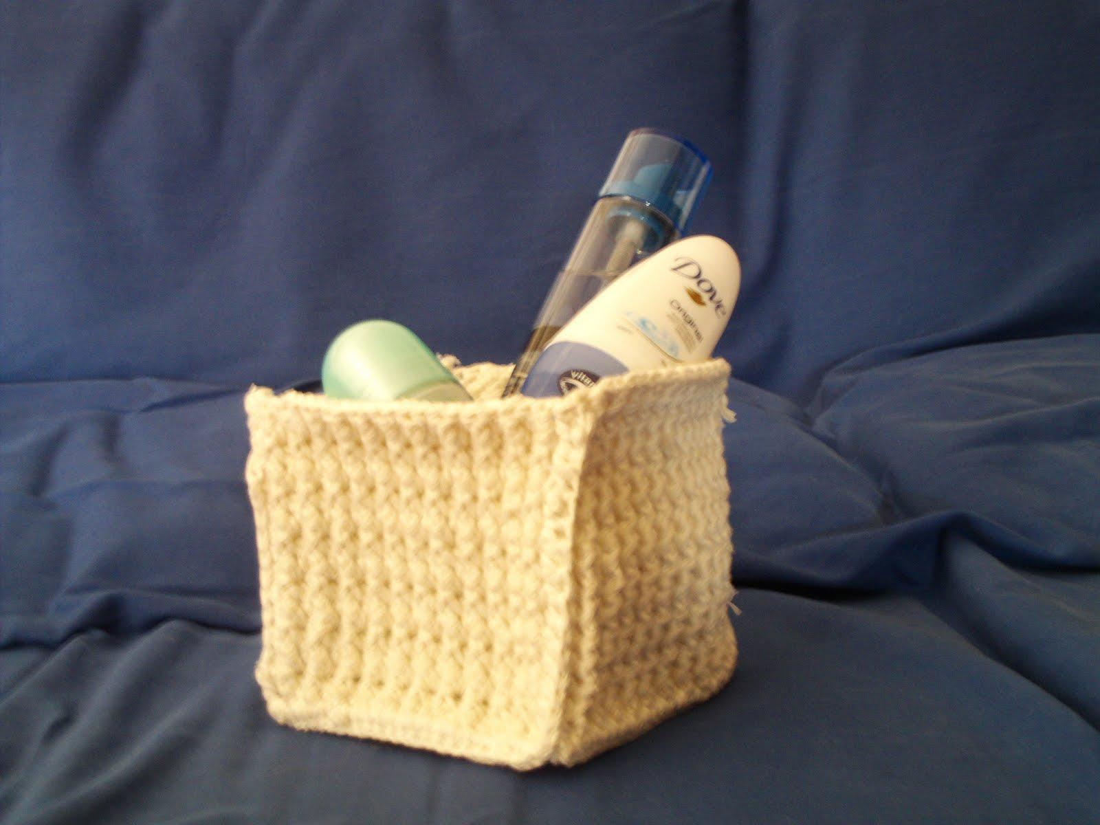 Un filo di passione cestino portaoggetti piccolo for Cestino bagno ikea