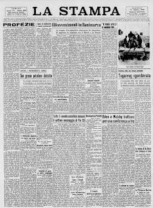LA STAMPA 31 AGOSTO 1943