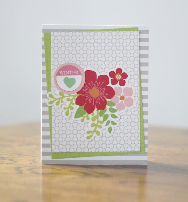 Amy Tsuruta Chickaniddy Crafts Winter Card 2