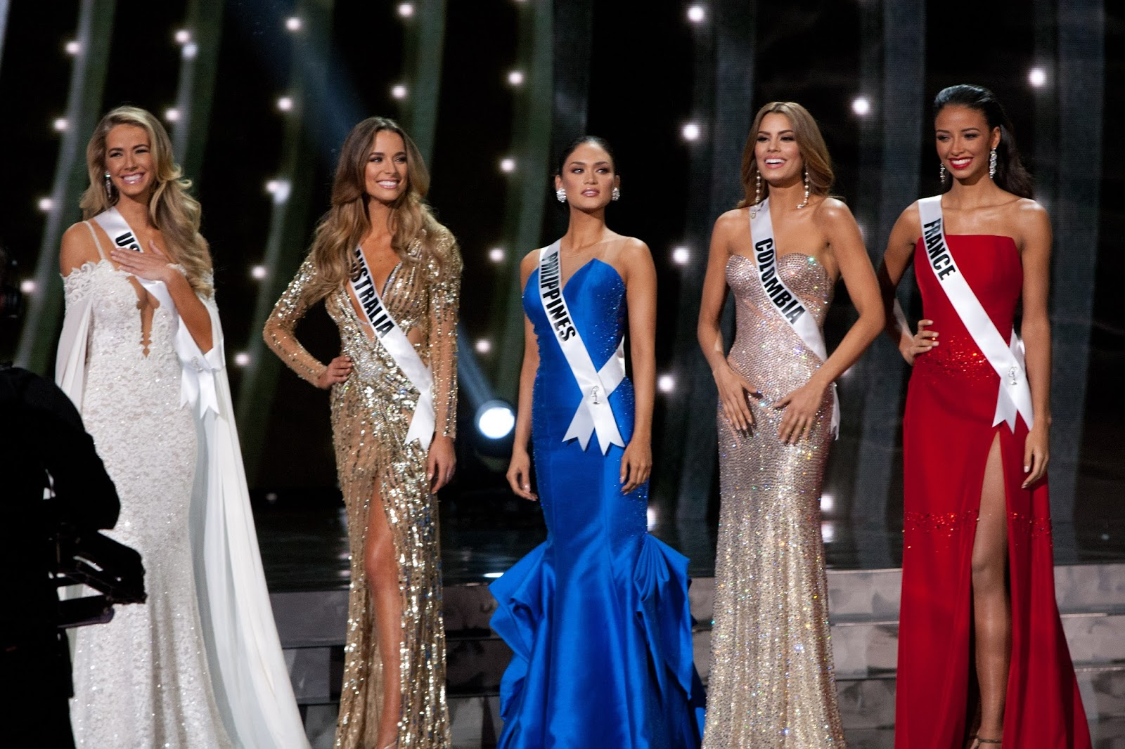 Miss Universe 2015 - Top 5 Evening Gown | HO/The Miss Universe ...