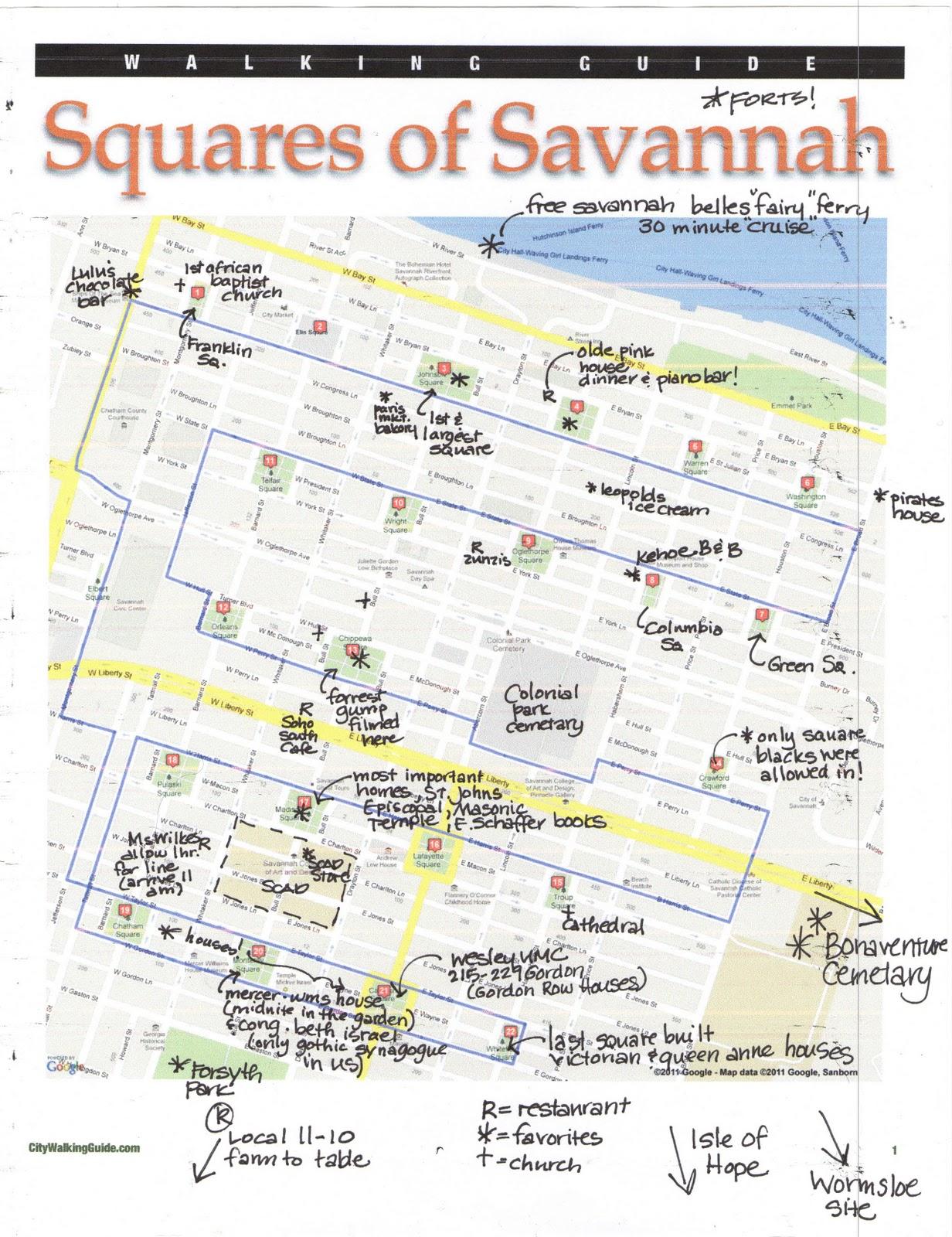 My Architectural Guide to Savannah Georgia Rachel Preston Prinz
