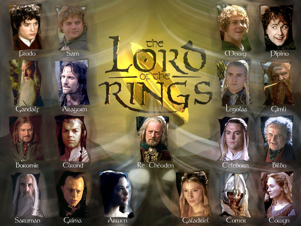 lord of the rings Follow the adventures of bilbo baggins, his nephew frodo, and their valiant friends in peter jackson's award-winning adaptations of jrr tolkien's classic fantasy novels, which revolve around a magical, seductive ring with dark powers highest rated movie: 95%, the lord of the rings: the two towers lord of the rings.