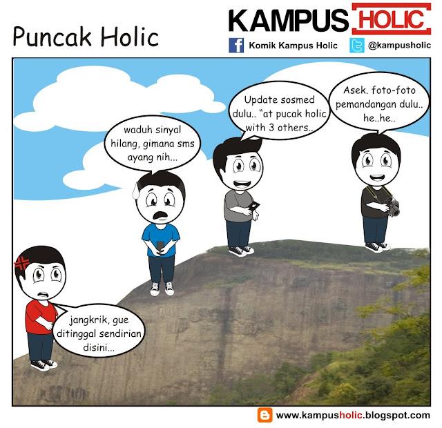 #222 Puncak Holic mahasiswa komik kampus