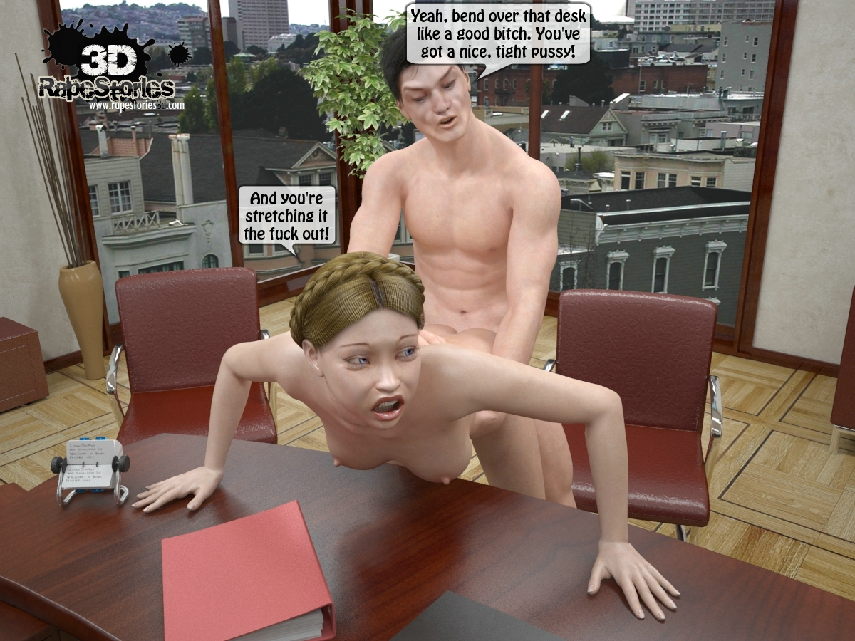 3d comic office girl with bigboobs 8