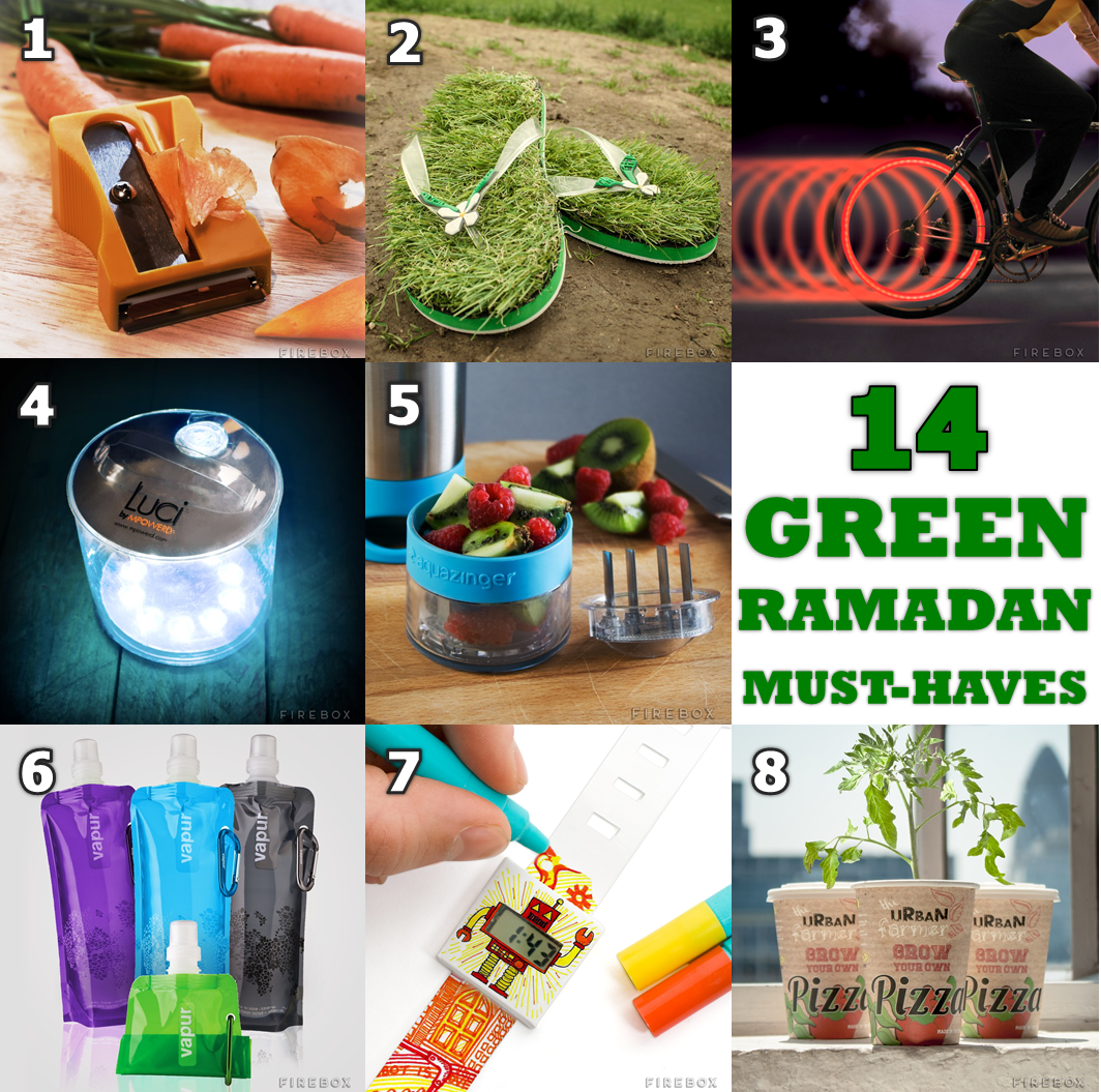 15 Green Must-Haves For Ramadan