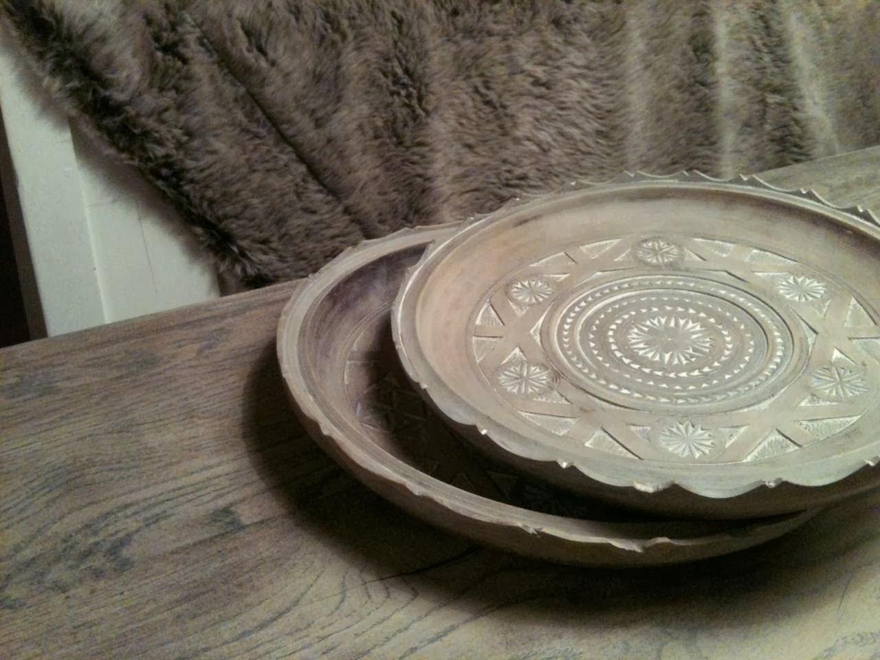 Concrete Paste Wax : Wonen a la mar houten borden met paste wax
