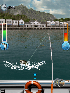 Symbian gamers game bass fishing mania for Fish mania help