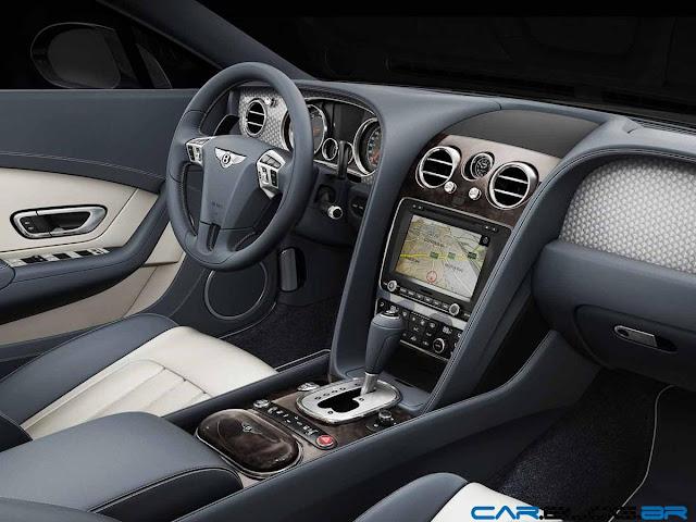 2013 Bentley Continental GT V8 - interior