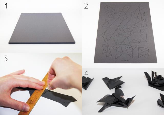 Origami kostenlose Anleitung Löwe
